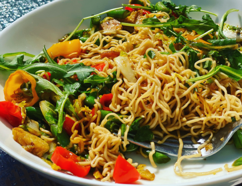 Veggie Stir Fry with Tainan Noodles